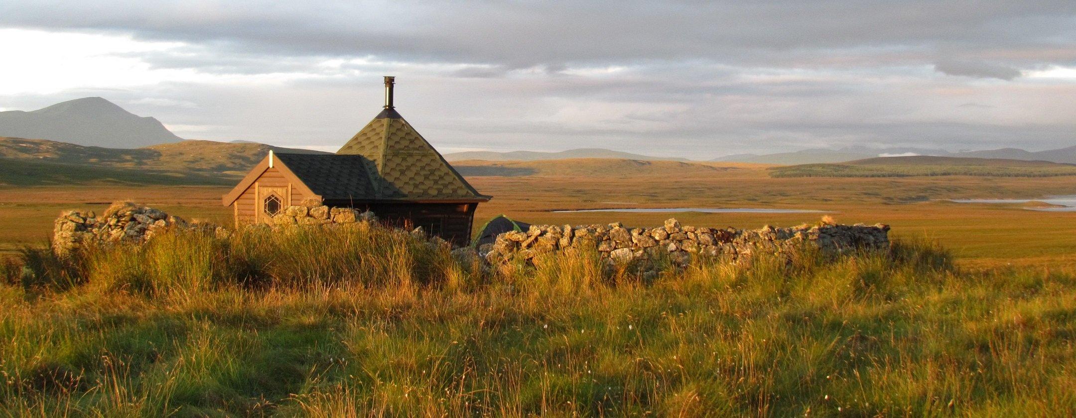 Cabin on Moor