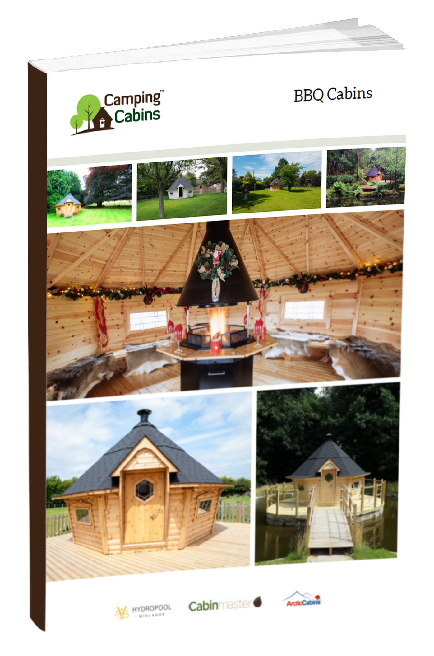 Guide Cover Mock UP- bbq cabins